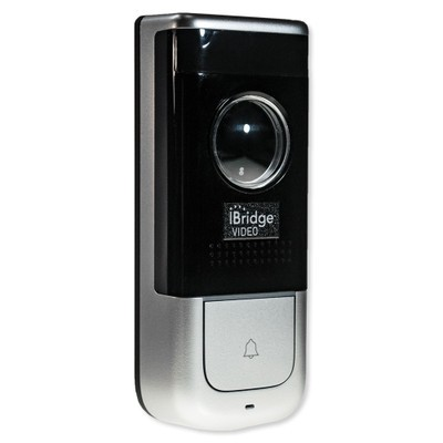 IBV-DBELL NAPCO Video Door Bell Cam WiFi Doorbell, built-in Multidirectional Mic/speaker, 1080P Pro Grade w/ Night Vision, Dark Metallic Gray (standard), AC with full mounting hardware. Includes 12 months cloud storage.