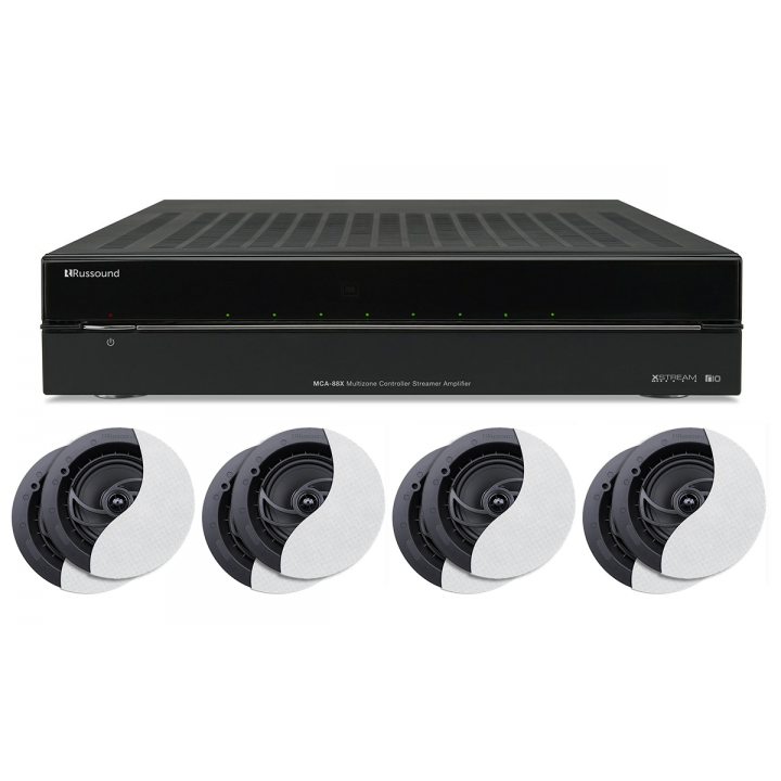 PROMORUSSOUNDMCA88X Buy one MCA-88X and get (4) pairs of RSF-610 speakers for free Promo Offer Valid January 1 - February 28, 2018