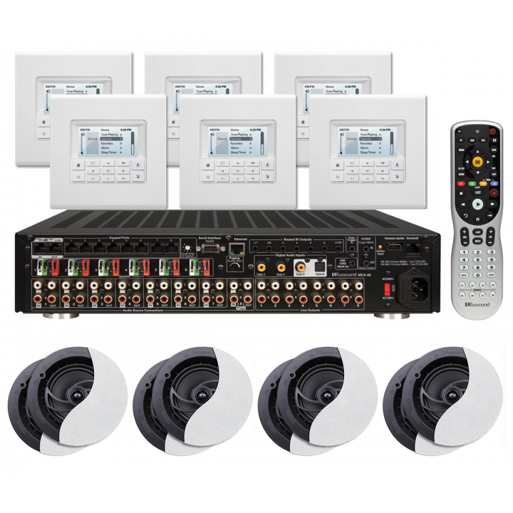 PROMORUSSOUNDKT288 Buy one KT2-88 and get (4) pairs of RSF-610 speakers for free Promo Offer Valid January 1 - February 28, 2018