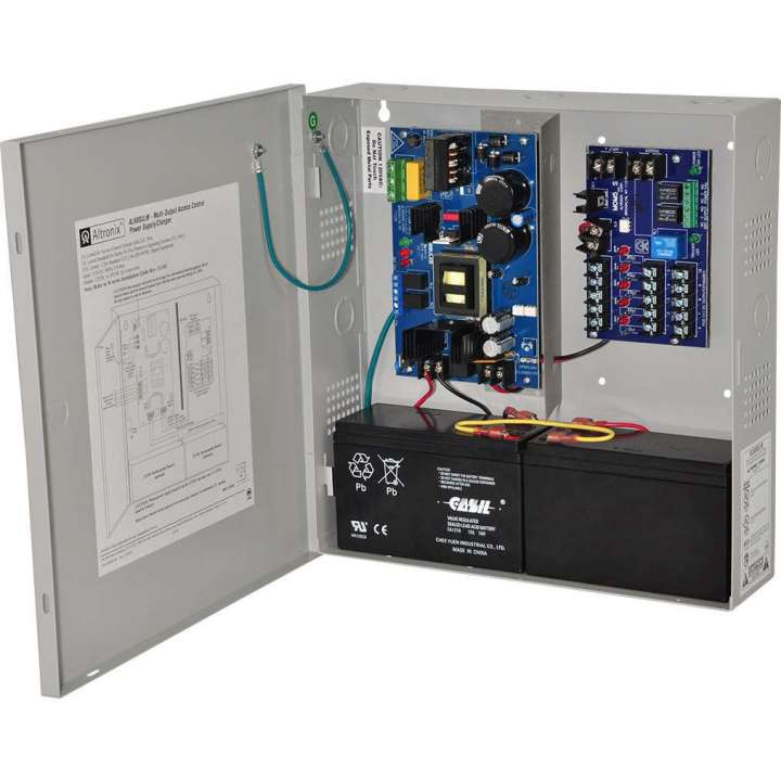 AL600ULM ALTRONIX 12/24VDC 6 AMP POWER SUPPLY MOM5 INSTALLED