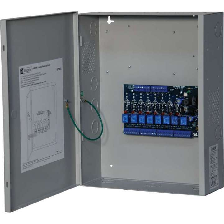ACM8CBE ALTRONIX 8 FUSED RELAY OUT POWER CONTROLLER W/CAB ************************* SPECIAL ORDER ITEM NO RETURNS OR SUBJECT TO RESTOCK FEE *************************