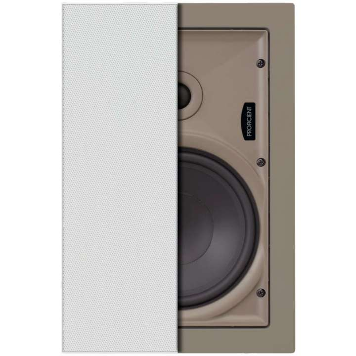 "W667 PROFICIENT Thin-Bezel 6.5"" Inwall Speakers - PAIR PAS21667 ************************* SPECIAL ORDER ITEM NO RETURNS OR SUBJECT TO RESTOCK FEE *************************"