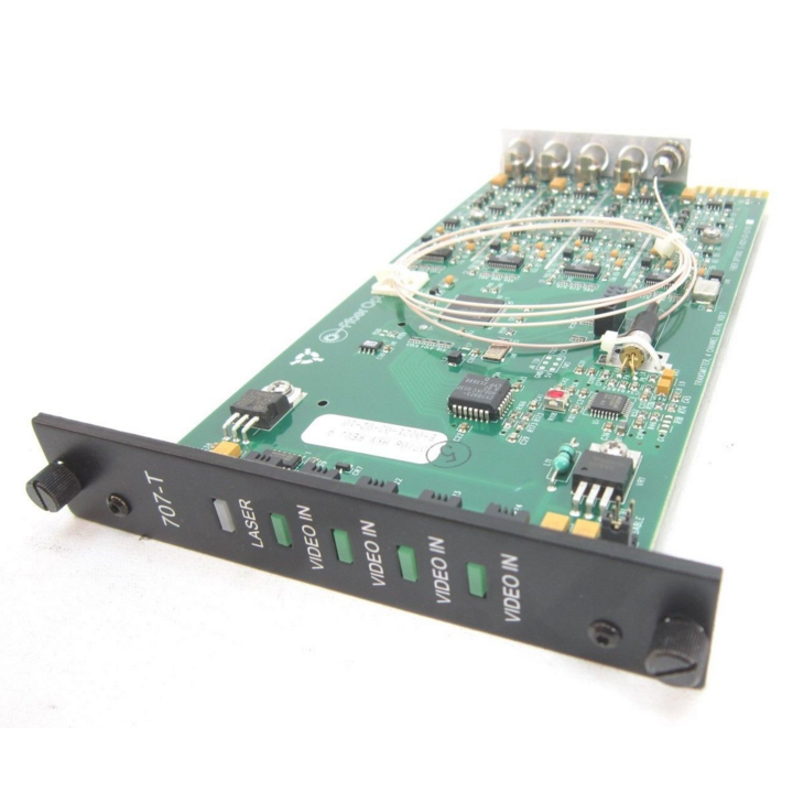 S707VT-RSTL UTC MM - 4-CH Digital Video TX, MM, Rack ************************* SPECIAL ORDER ITEM NO RETURNS OR SUBJECT TO RESTOCK FEE *************************