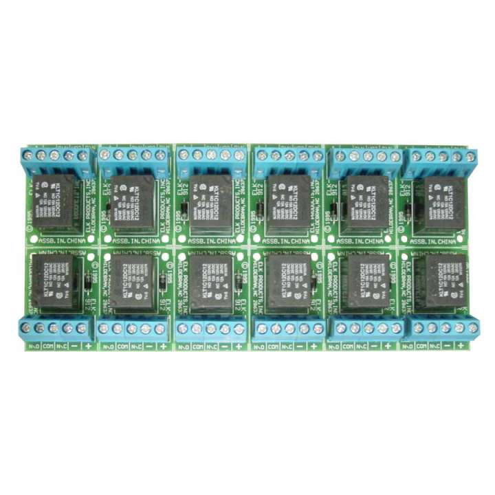ELK91212 ELK 12 PACK RELAY SPDT 12V ************************* SPECIAL ORDER ITEM NO RETURNS OR SUBJECT TO RESTOCK FEE *************************