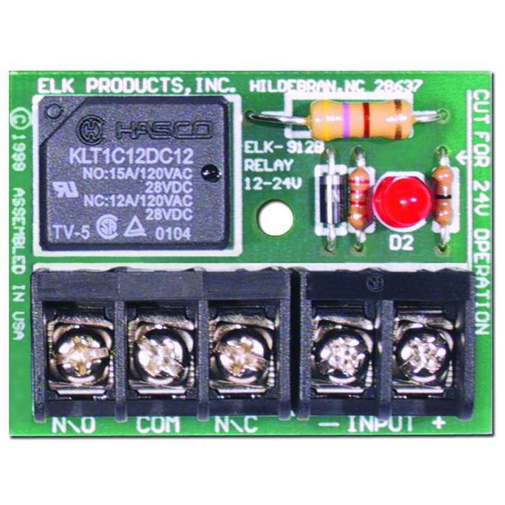 ELK912B ELK RELAY SPDT 12/24V ************************* SPECIAL ORDER ITEM NO RETURNS OR SUBJECT TO RESTOCK FEE *************************