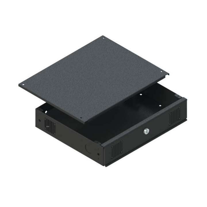 VMPDVR-MB1 VMP DVR LOCKBOX FOR MOBILE/RACKMOUNT, 17 X 14 X 3, WITH RACK EARS AND FAN ************************* SPECIAL ORDER ITEM NO RETURNS OR SUBJECT TO RESTOCK FEE *************************
