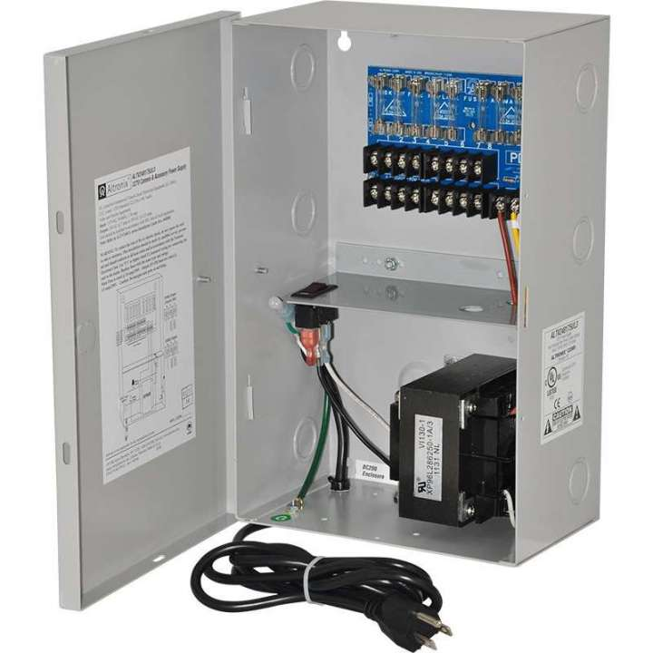 ALTV248175UL3 ALTRONIX 24VAC POWER SUPPLY 7.25AMP W/ 8 OUTPUTS INCL POWER CORD ************************* SPECIAL ORDER ITEM NO RETURNS OR SUBJECT TO RESTOCK FEE *************************