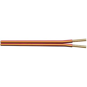 UF1802Z-2B5 UPG 18/2 conductor solid parallel fire with yellow stripe on 1 conductor NEC760/800 UL or ETL listed Type FPLR, Red Jacket, 500' Box ************************** CLEARANCE ITEM- NO RETURNS *****ALL SALES FINAL****** **************************