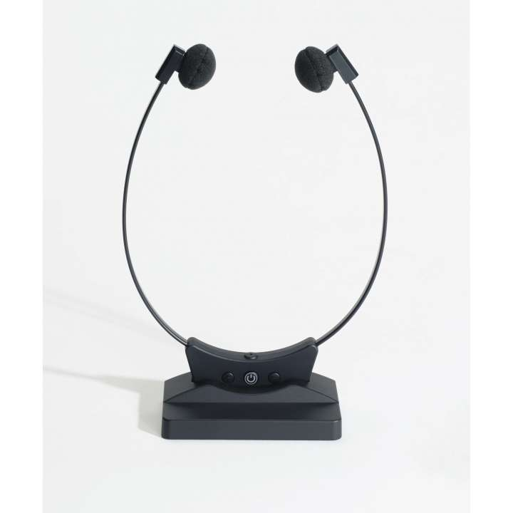 VEC-SPECTRA SP-300BT WIRELESS TRANSCRIPTION HEADSET W/BLUETOOTH AND BUILT IN MICROPHONE AND VOLUME CONTROL