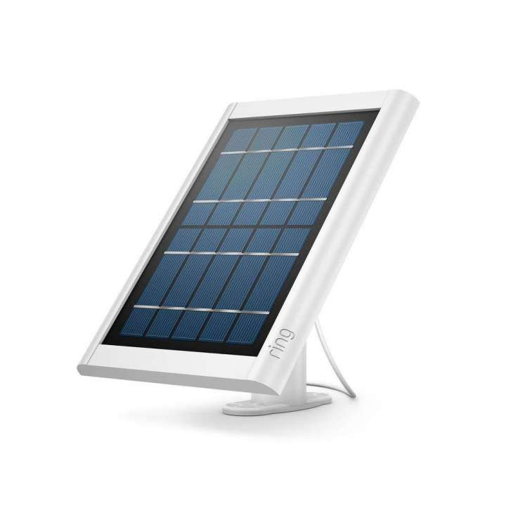 8ASPS7-WEN0 RING Solar Panel for Battery Spotlight Camera (White) ************************* SPECIAL ORDER ITEM NO RETURNS OR SUBJECT TO RESTOCK FEE *************************