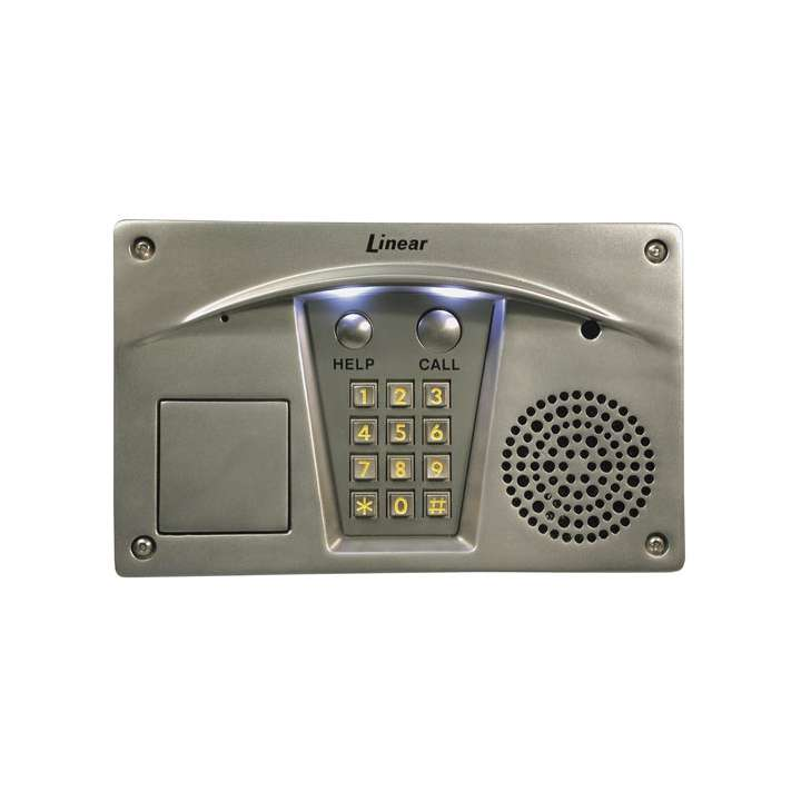 RE-2S LINEAR STAINLESS STEEL RESIDENTIAL TELEPHONE ENTRY SYSTEM STAINLESS STEEL FINISH ACP00919S ************************* SPECIAL ORDER ITEM NO RETURNS OR SUBJECT TO RESTOCK FEE *************************