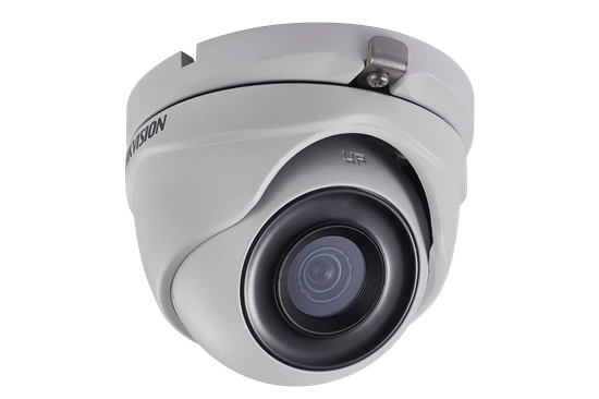 DS-2CE76D3T-ITMF2.8mm HIKVISION Outdoor IR Turret, TurboHD 4.0, HD-TVI/AHD/HD-CVI/CVBS, 2MP, 2.8mm, 30m EXIR 2.0, Day/Night, True WDR, 3D DNR, Smart IR, IP67, 12 VDC