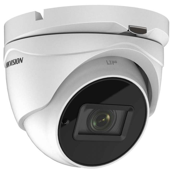 DS-2CE56H5T-IT3ZE HIKVISION Outdoor IR Turret, TurboHD 4.0, HD-TVI, 5MP, 2.8-12mm Motorized Zoom/Focus, 40m EXIR 2.0, Day/Night, True WDR, Smart IR, PoC, UTC Menu, IP67, 12 VDC ************************* SPECIAL ORDER ITEM NO RETURNS OR SUBJECT TO RESTOCK FEE *************************