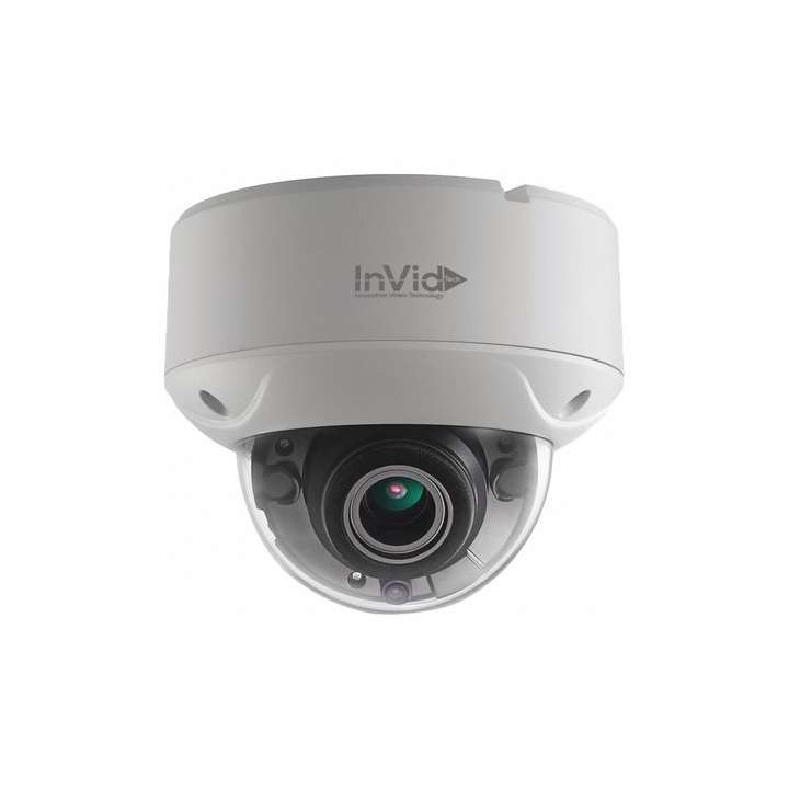 ULT-C2DRXIRM2812 INVID 2 Megapixel/1080p TVI Outdoor Rugged Dome, 2.8-12mm Motorized Lens, 150' IR Range, Dual Voltage ************************* SPECIAL ORDER ITEM NO RETURNS OR SUBJECT TO RESTOCK FEE *************************