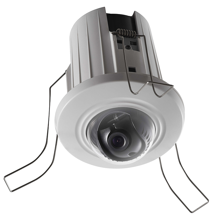 DS-2CD2E20F4MM HIKVISION Indoor Recessed Ceiling Dome, 2MP/1080p, H264, 4mm, Day/Night, IP66, PoE/12VDCi