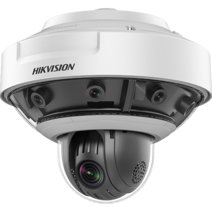DS-2DP1636Z-D Hikvision PanoVu 16MP (8x2MPx5mm) 360 Panoramic camera with 2MP PTZ 36x zoom and 3D Positioning Smart Suite Analytics IP66 36VDC PS Incl. 120W