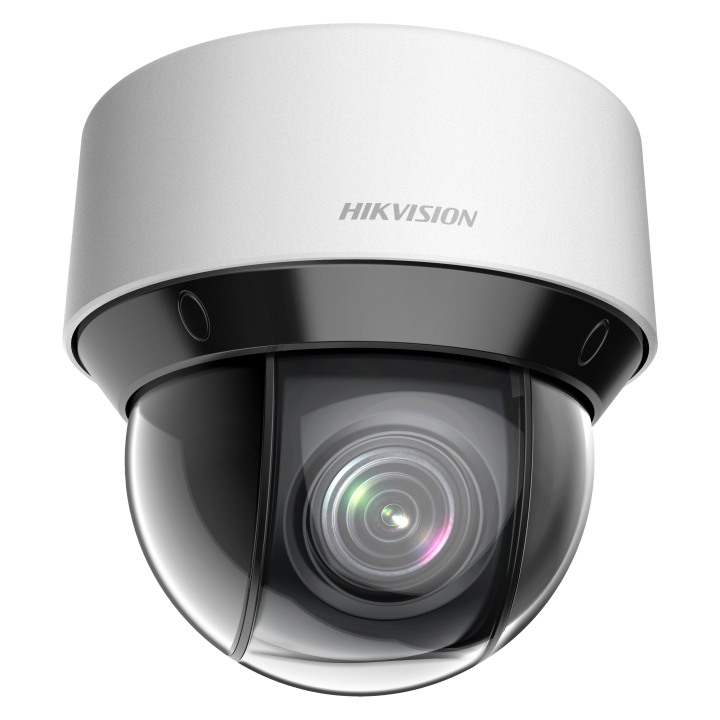 DS-2DE4A204IW-DE HIKVISION Indoor/Outdoor PTZ Dome, 2MP Darkfighter, 4x lens, 50m IR, PTZ Suite Analytics, IP66, PoE+/24VAC, 18W