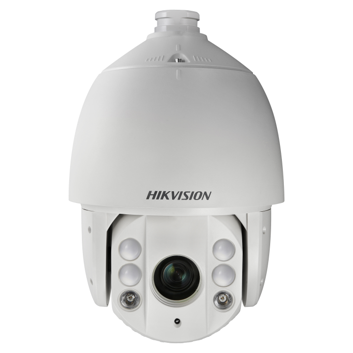 DS-2DE7130IW-AE Hikvision Outdoor PTZ Dome 1.3MP w/30X lens 150m IR Basic Smart Suite Analytics IP66 HiPoE/24VAC 40W