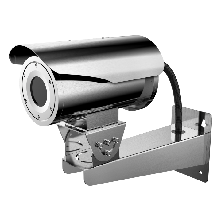 DS-2TD2466-50Y Hikvision Outdoor network Stainless Steel thermal bullet 640x512 50mm lens intrusion and line cross temperature exception alarm fire detection audio in/out 24VAC/12VDC/Hi-PoE 24W