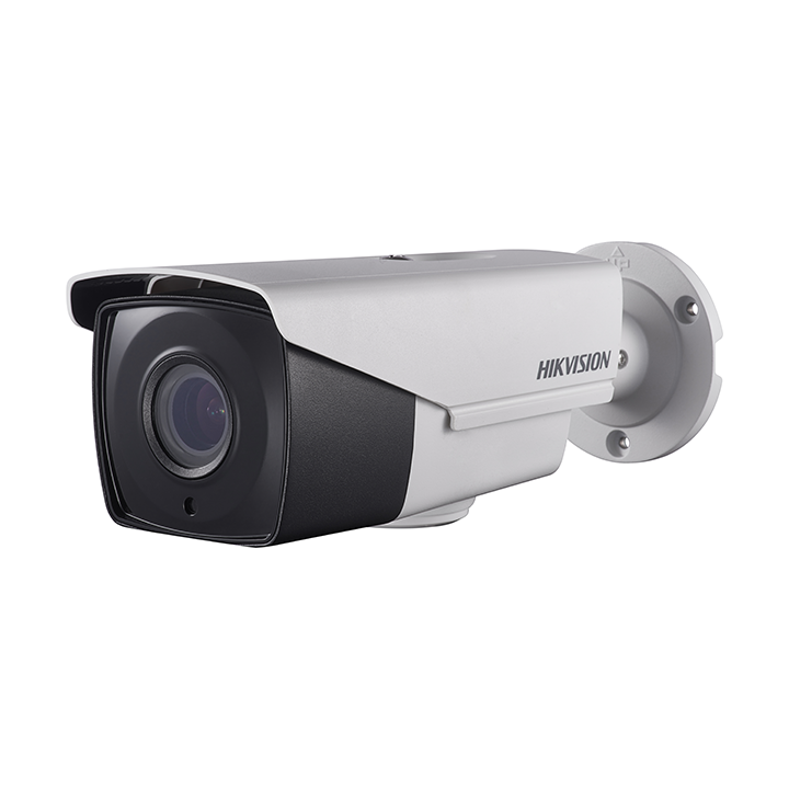DS-2CC12D9T-AIT3ZE HIKVISION Outdoor IR Bullet, TurboHD 4.0, HD-TVI, 2MP, 2.8-12mm Motorized Zoom/Focus, Ultra Low Light, 40m EXIR 2.0, Day/Night, True WDR, Smart IR, PoC, UTC Menu, IP67, 12VDC/ 24VAC