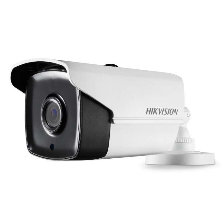 DS-2CE16D8T-IT38MM Hikvision Outdoor IR Bullet TurboHD 4.0 HD-TVI 2MP 8mm Ultra Low Light 40m EXIR 2.0 Day/Night True WDR Smart IR UTC Menu IP67 12 VDC