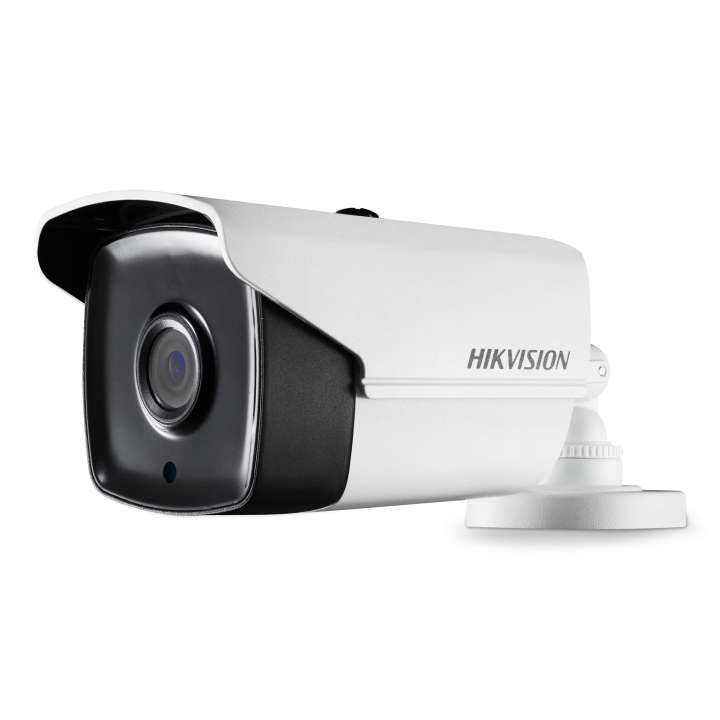 DS-2CE16H1T-IT16MM Hikvision Outdoor IR Bullet TurboHD 4.0 HD-TVI 5MP 6mm 20m EXIR 2.0 Day/Night True WDR Smart IR IP67 12 VDC
