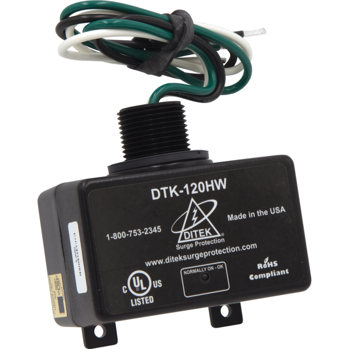 DTK-120HW DITEK 120V - 15A PARALLEL PROTECTOR ************************* SPECIAL ORDER ITEM NO RETURNS OR SUBJECT TO RESTOCK FEE *************************