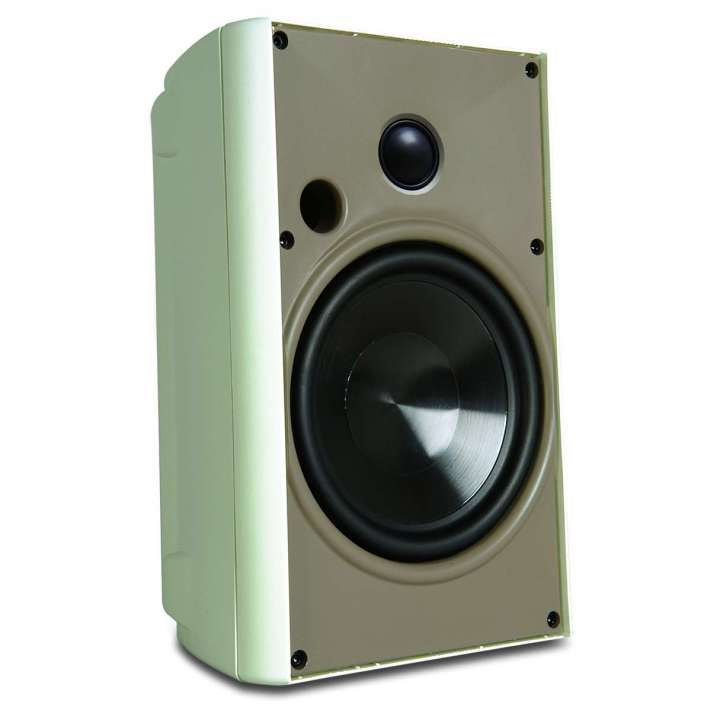 """AW400WHT PROFICIENT PAIR IN/OUTDOOR 4"""" SPEAKERS 100 WATT WHITE ************************* SPECIAL ORDER ITEM NO RETURNS OR SUBJECT TO RESTOCK FEE *************************"""