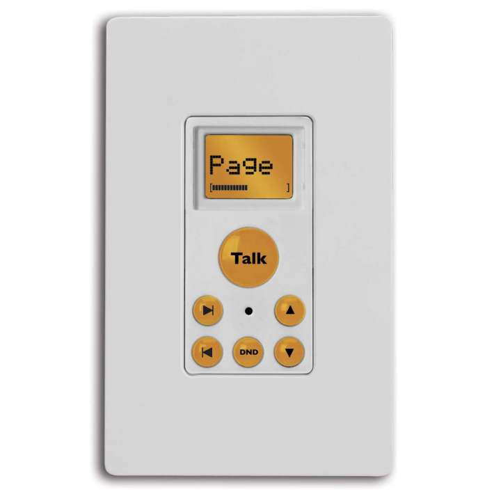 2300-525384 Russound Isk2, White Advanced Paging Keypad