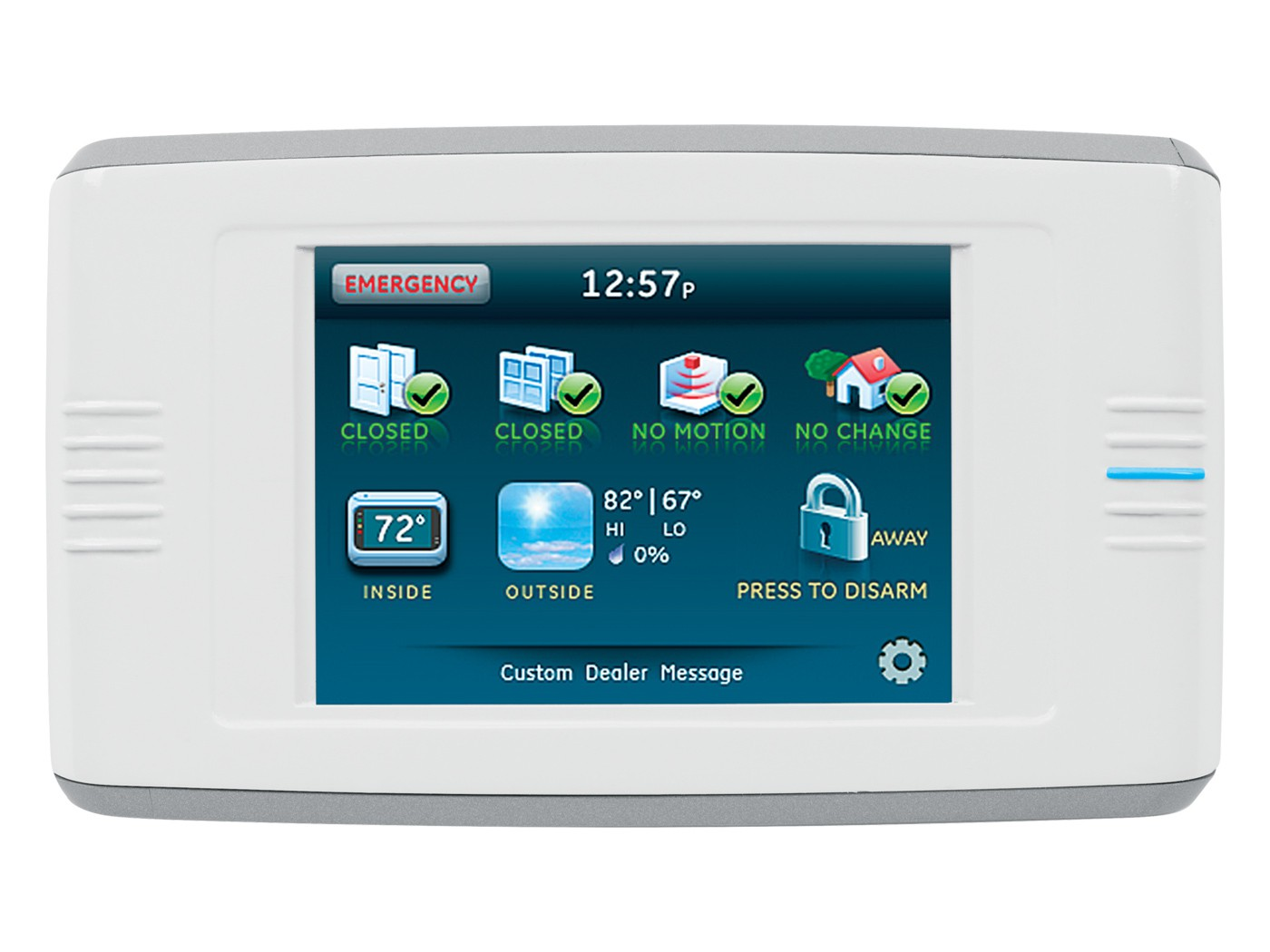 60-924-RF-TS5-2 INTERLOGIX SIMON 5 INCH TOUCHSCREEN VERSION2