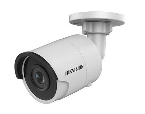 DS-2CD2045FWD-I2.8mm HIKVISION Outdoor Bullet, 4MP-30fps, H265+, 2.8mm, Day/Night, DarkFighter, 120dB WDR, EXIR (30m), IP67, PoE/12VDC