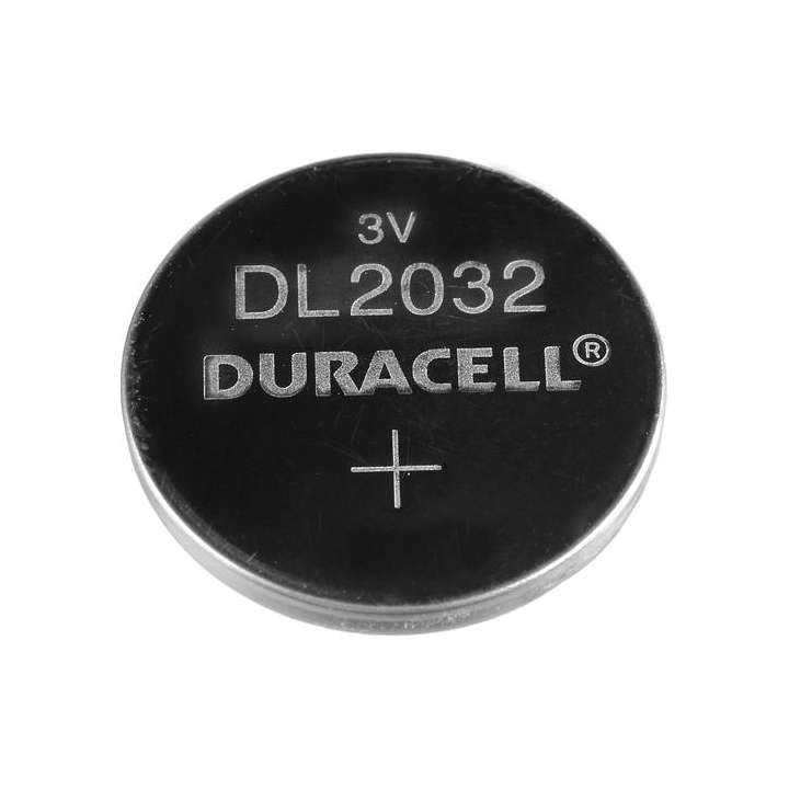 CR2032 DURACELL 3VOLT COIN CELL BATTERY COMP-32 BLISTERPACK