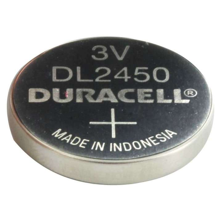 CR2450 DURACELL 3V FLAT LITHIUM BATTERY FOR DSC MICRO