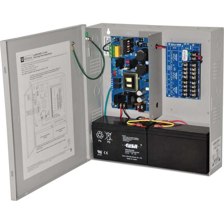 AL600ULPD8CB ALTRONIX 6 AMP POWER SUPPLY W 8 PROTECTED CIRCUTS