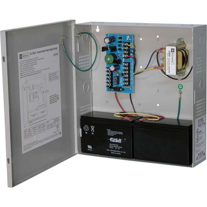 AL175ULX ALTRONIX (AL175UL) UL LISTED ACCESS CONTROL POWER SUPPLY IN LARGE CABINET W/ CAMLOCK
