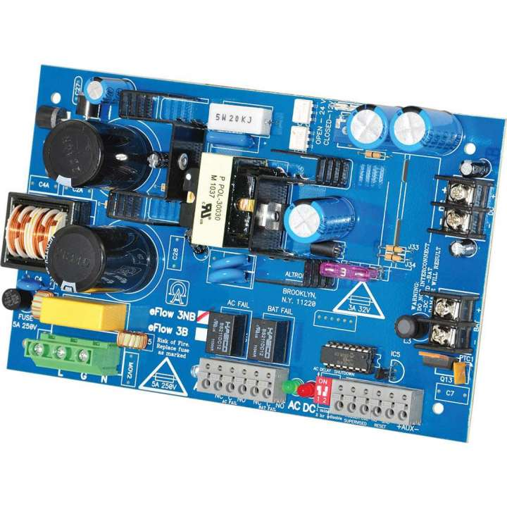 EFLOW3NB ALTRONIX 12VDC OR 24VDC 2 AMP BOARD ONLY ************************* SPECIAL ORDER ITEM NO RETURNS OR SUBJECT TO RESTOCK FEE *************************