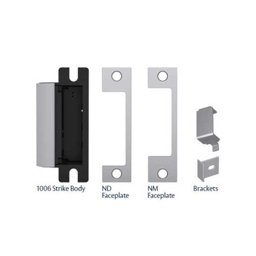 1006CDB-630 HES 1006 STRIKE KIT LATCH, D-BOLT INCLUDES N, A, H, T OPTIONS 12/24VDC FIELD SELECTABLE FAIL SECURE SATIN STAINLESS STEEL ************************* SPECIAL ORDER ITEM NO RETURNS OR SUBJECT TO RESTOCK FEE *************************