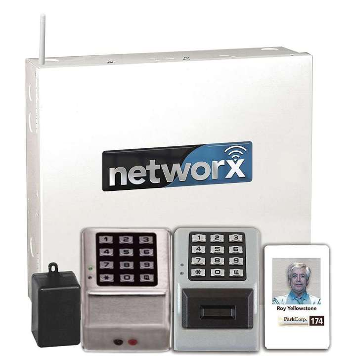 NETPDKPAK/26D ALARM LOCK Digital & HID Prox Wireless wall mounted keypad kit, includes wall mounted reader, control panel with door position with RX, remote release, battery back up and plug in transformer ************************* SPECIAL ORDER ITEM NO RETURNS OR SUBJECT TO RESTOCK FEE *************************