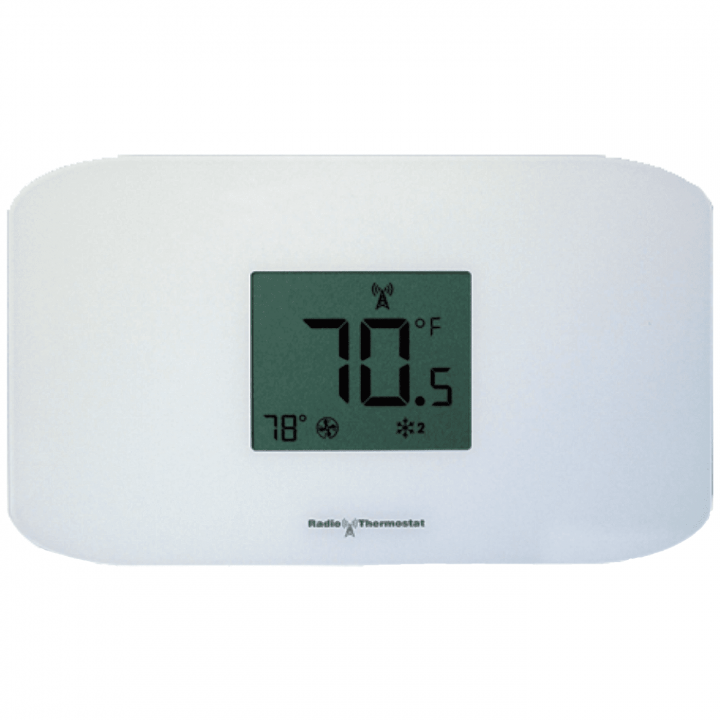 CT110RT-P RADIO THERMOSTAT WITH Z-WAVE 500 (PUSH TERMINALS) 7 DAY PGM tstat w/ts, 2 heat/2 cool, humidity sensor