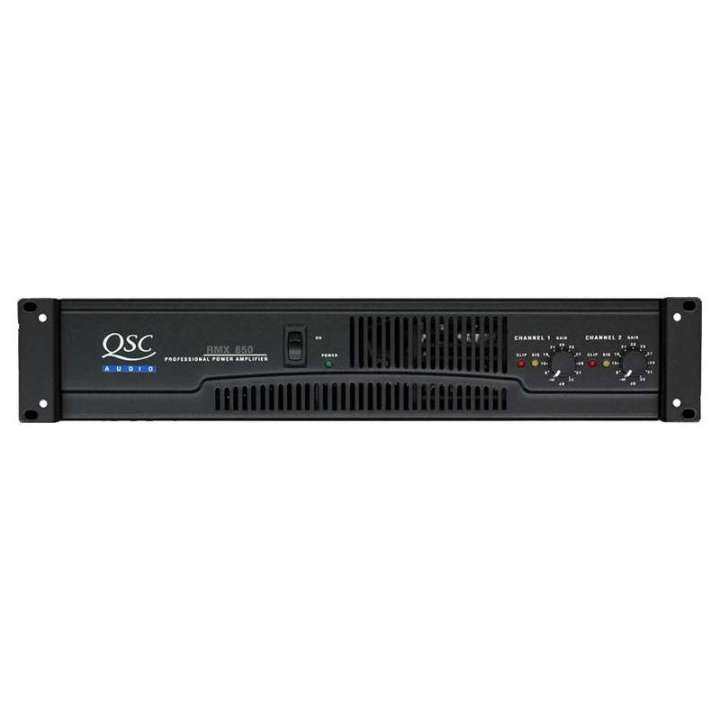 RMX-850 QSC PROFESSIONAL STEREO POWER AMP 2 CHANNEL 200W PER @ 8 OHMS