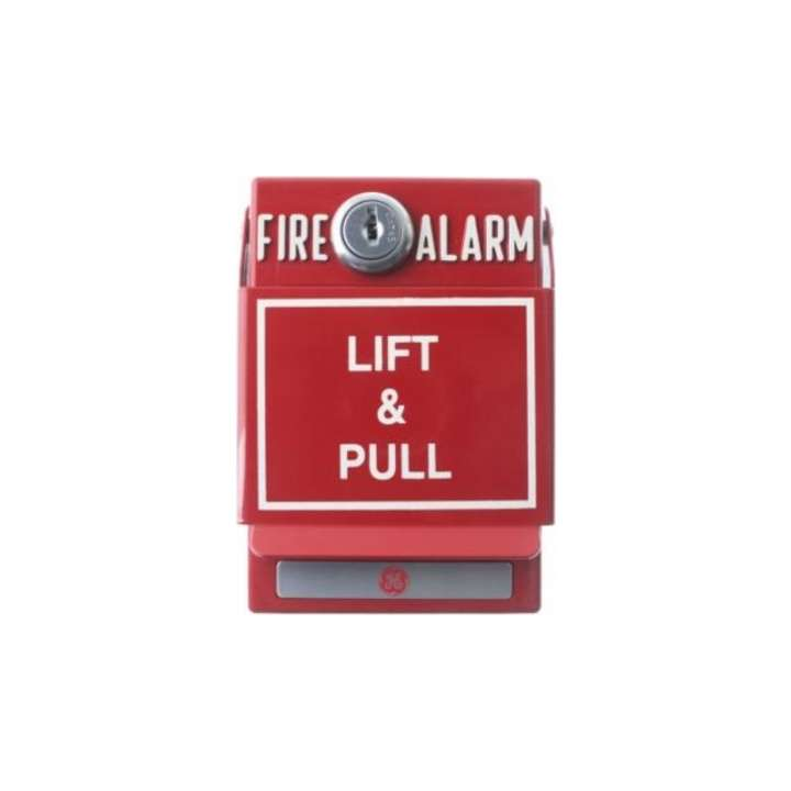 103-42 UTC DUAL ACTION (SPST) MANUAL FIRE ALARM STATION W/KEY RESET
