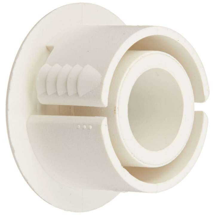 """1908C-N UTC ADAPTOR, 3/8"""" TO 3/4"""", WHITE USE TO ADAPT OVER-DRILLED HOLES AND TO FACILITATE WIRING, 10-PACK ************************* SPECIAL ORDER ITEM NO RETURNS OR SUBJECT TO RESTOCK FEE *************************"""