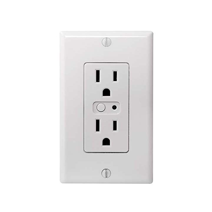 WO15EMZ5-1 LINEAR ZWAVE WALL OUTLET WITH ENERGY MONITORING