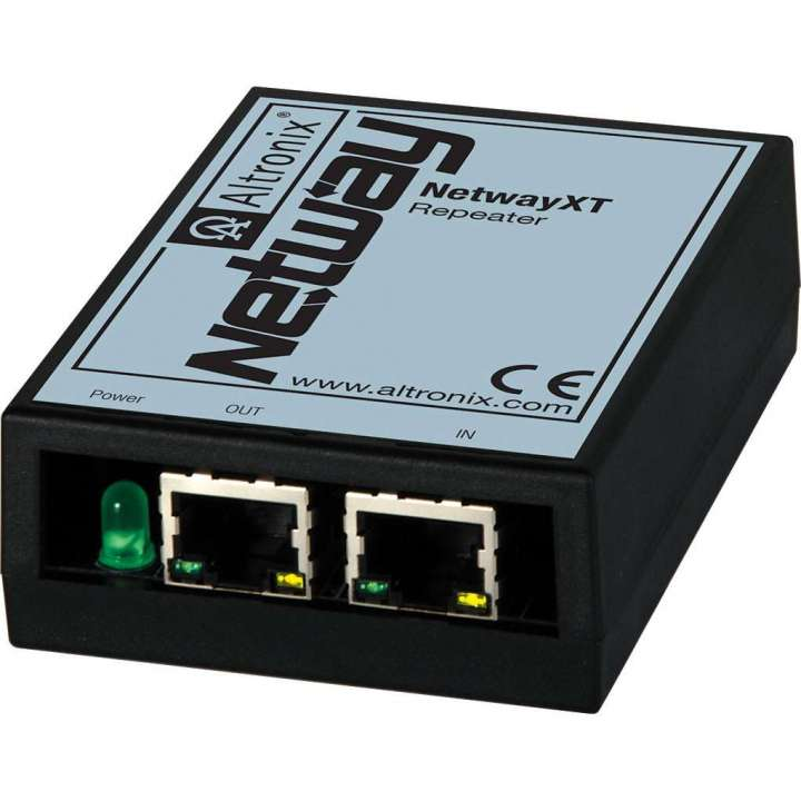 NETWAYXT ALTRONIX REPEATER EXTENDS ETHERNET AND POE AND ADDITIONAL 100M (328 FT), UL/CUL LISTED (UL60950-1) ************************* SPECIAL ORDER ITEM NO RETURNS OR SUBJECT TO RESTOCK FEE *************************
