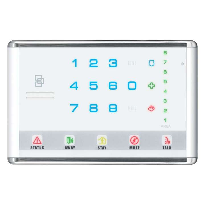 NX-1813E UTC NETWORX ADVANCED TOUCH LED KEYPAD LANDSCAPE WHITE ************************* SPECIAL ORDER ITEM NO RETURNS OR SUBJECT TO RESTOCK FEE *************************