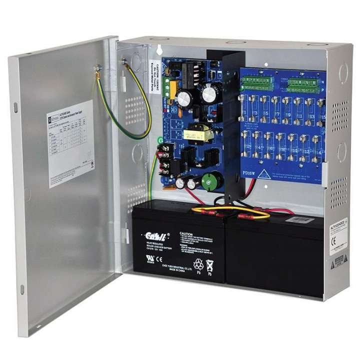 ALTV1224DC2 ALTRONIX 12VDC, 6 AMP 16 CAMERA POWER SUPPLY W/ FUSED OUTPUTS ************************* SPECIAL ORDER ITEM NO RETURNS OR SUBJECT TO RESTOCK FEE *************************