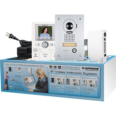 JKS-IPEF AIPHONE IP VIDEO ENTRY INTERCOM KIT (KIT CONTAINS: JKW-IP, JK-1MED, JK-DVF, PS-1820UL) ************************* SPECIAL ORDER ITEM NO RETURNS OR SUBJECT TO RESTOCK FEE *************************