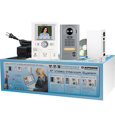 JKS-IPEV AIPHONE IP VIDEO ENTRY INTERCOM KIT (KIT CONTAINS: JKW-IP, JK-1MED, JK-DV, PS-1820UL) ************************* SPECIAL ORDER ITEM NO RETURNS OR SUBJECT TO RESTOCK FEE *************************