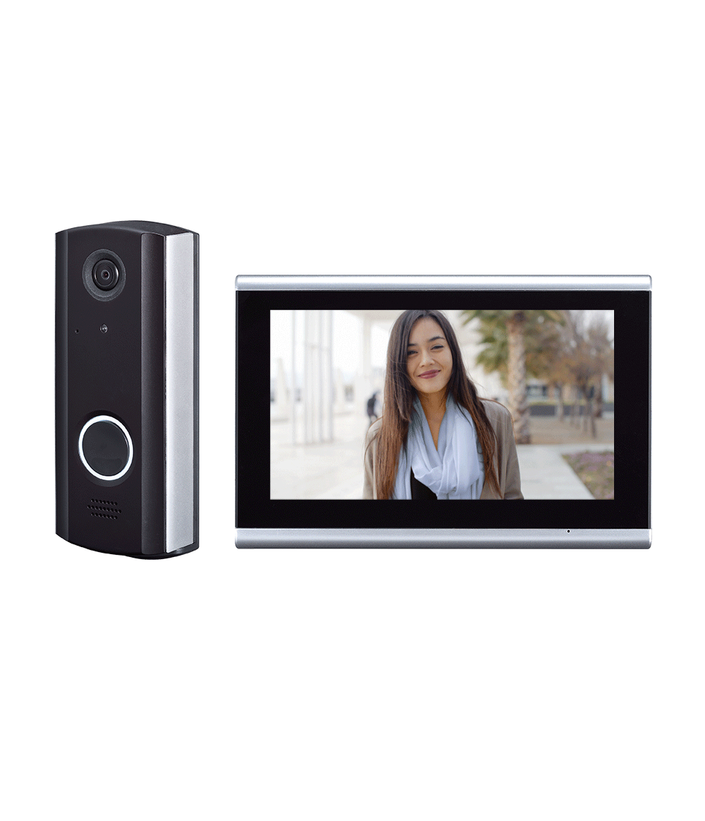 IVPC-DM OPTEX I-Vision+ Connect Video Intercom Door and Monitor Station kit