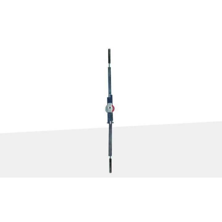 MS1880-01-119 ADAMS RITE 2 POINT FLUSHBOLTS 7FT 119 (BLACK)